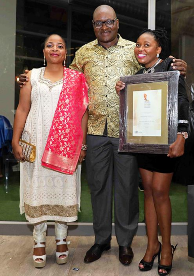 Prof Motaung scoops most innovative women award
